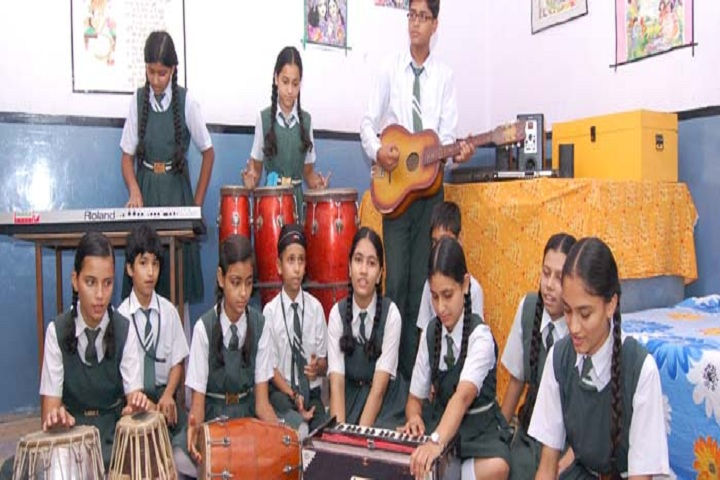 Gandhi Nagar Public School-Music Room