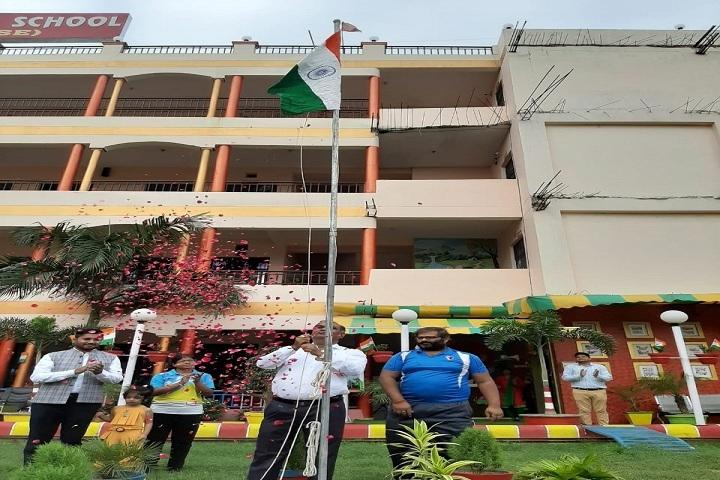 Gardenia Public School-Flag Hosting