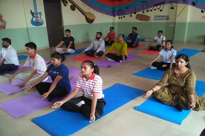 Gardenia Public School-Yoga Day