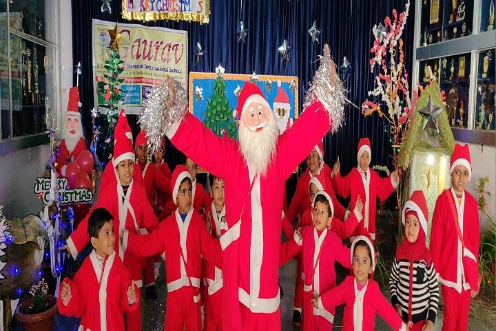 Gaurav Memorial International School-Christmas Celebration