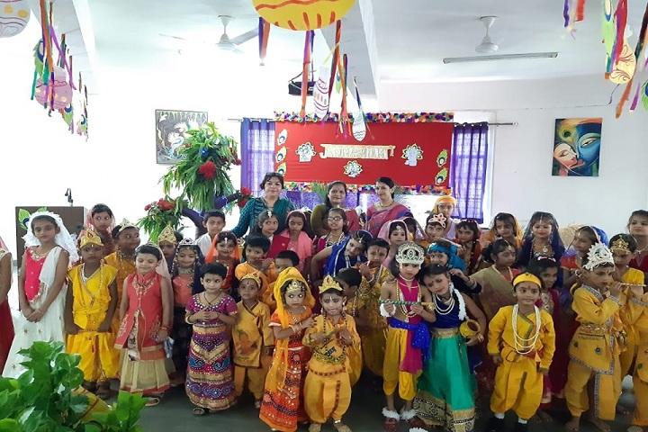 Gaurav Memorial International School-Festival Celebration
