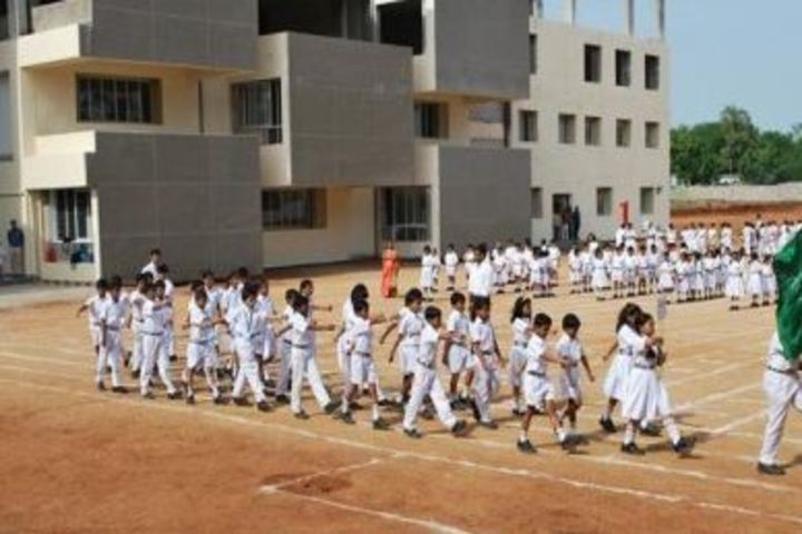 Delhi Public School-March Past