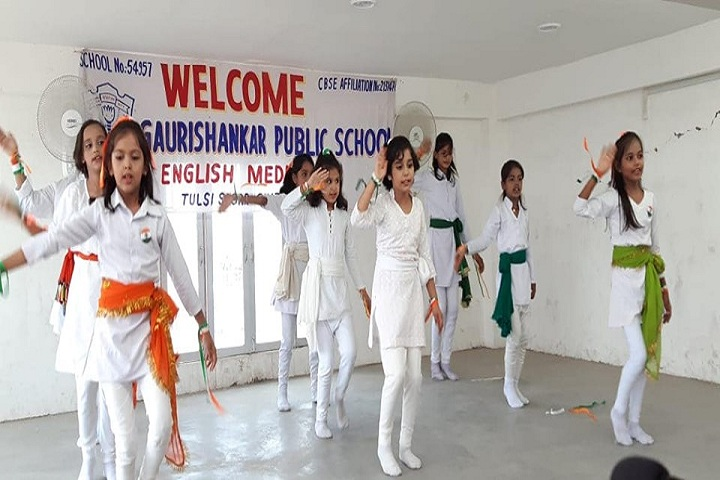 Gauri Shankar Public School-Group Dance