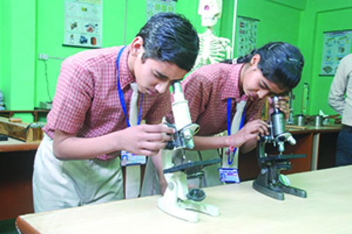 Gautam Public School-Biology lab