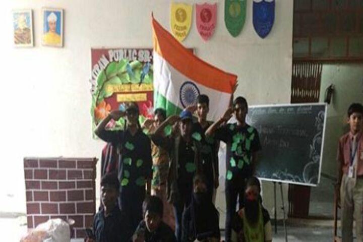 Gautam Public School-Independence day celebrations