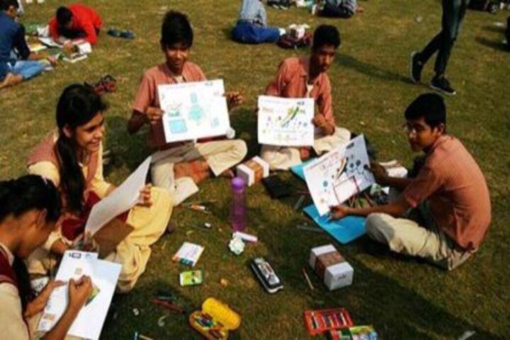 Gautam Public School-Painting Competition