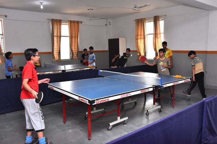 Gayatri Public School-Indoor Games