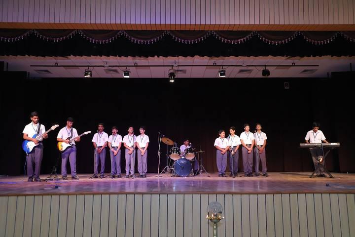 Gayatri Public School-Music Consert