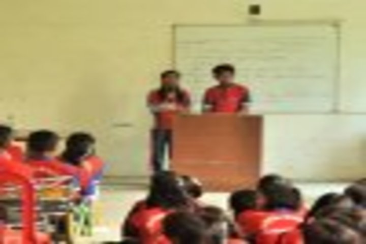 Global Wisdom School Of Education-Speech and Extempore Competition