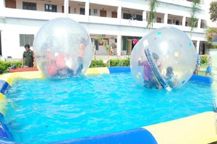 Golden Flower Public School-Swimming