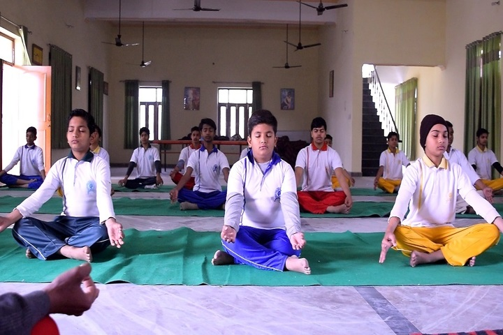 Golden Public School-Yoga