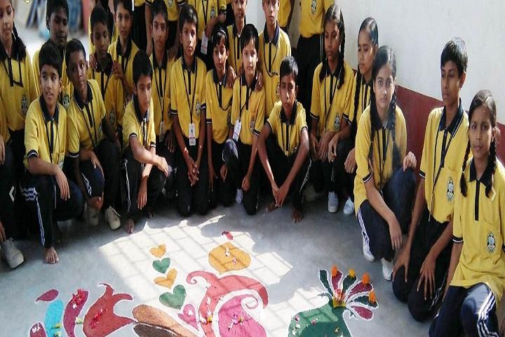 Gopal Ji Memorial School-Rangoli