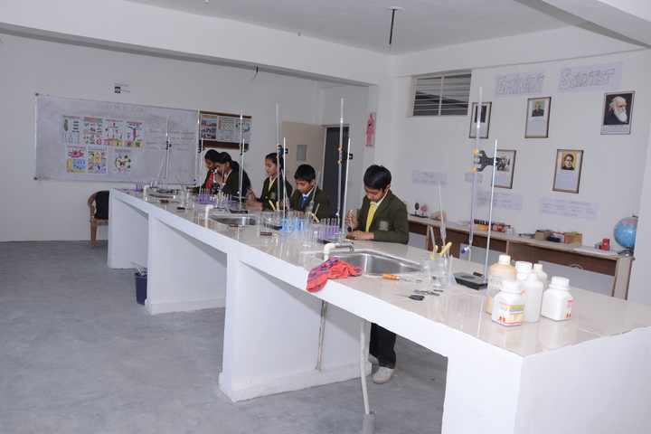 Greater Heights Public School-Chemistry Lab