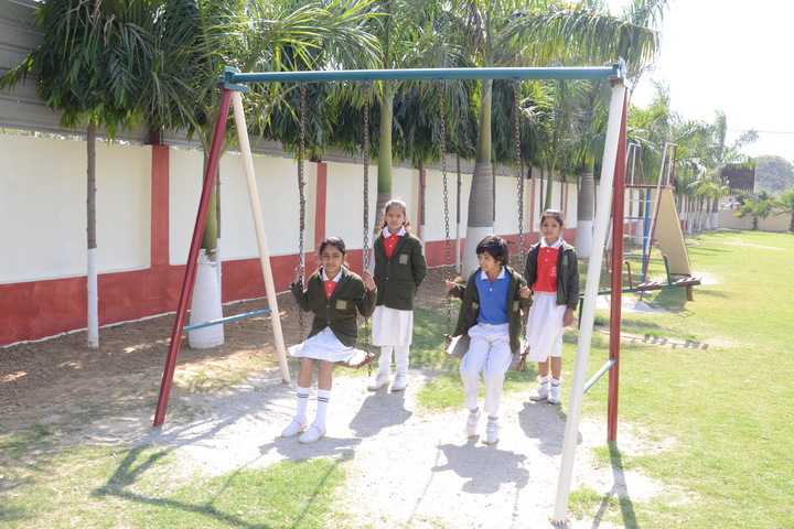 Greater Heights Public School-Play area