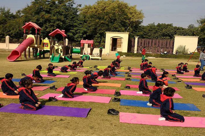 Greater Noida World School-Yoga
