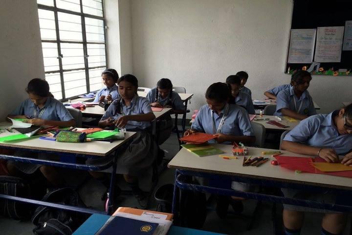 Shri Ram Centennial School-Classroom