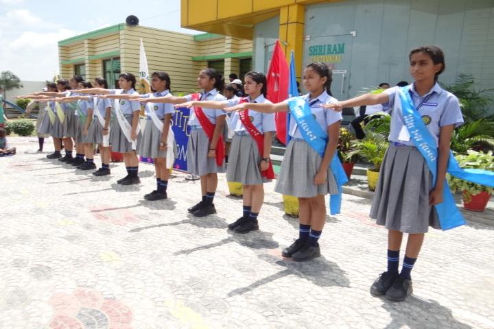 Shri Ram Centennial School-Investiture Ceremony