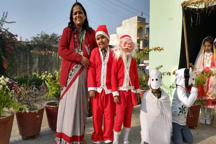 Green Valley Convent School-Christmas