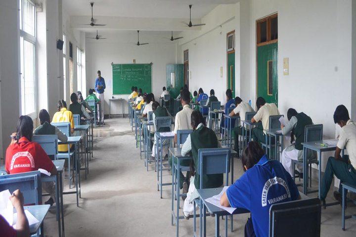 Green Valley English School-Exam hall