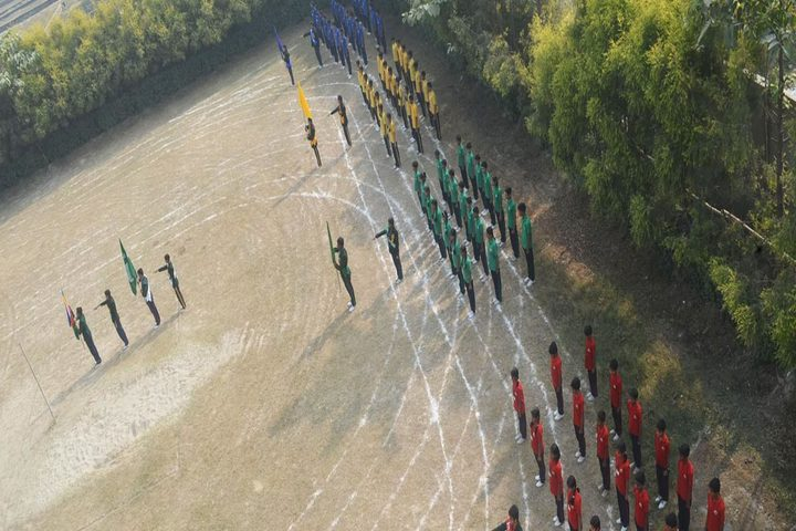Green Valley English School-Sports day