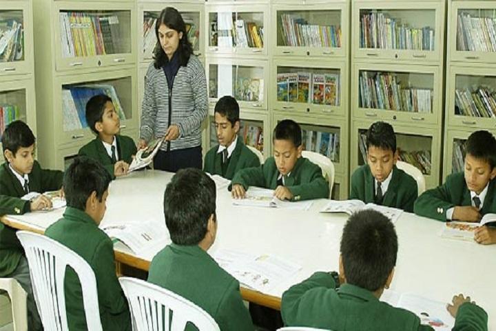 Green Valley English School-Library