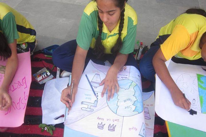 Green Willow Public School-Drawing