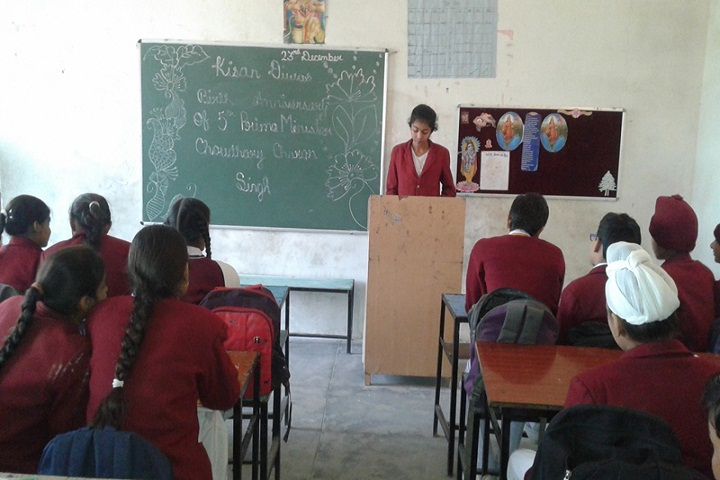 Guru Nanak Convent Senior Secondary School-Class
