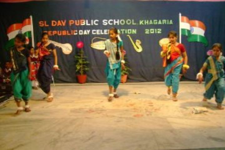S L D A V Public School-Republic Day