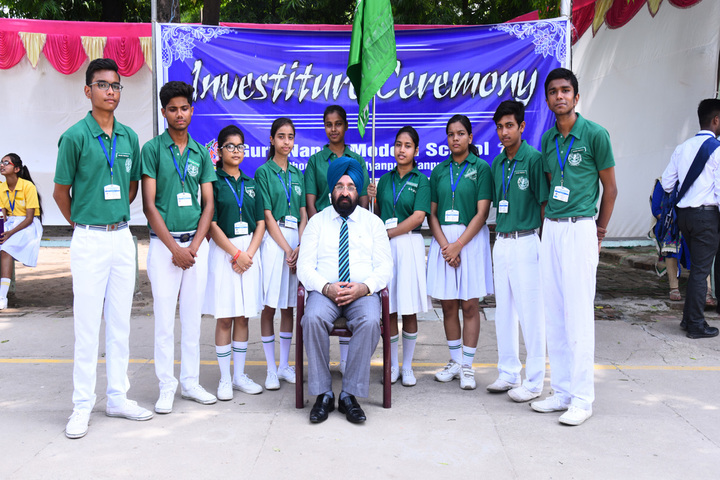 Guru Nanak Modern School-Investiture Ceremony 1