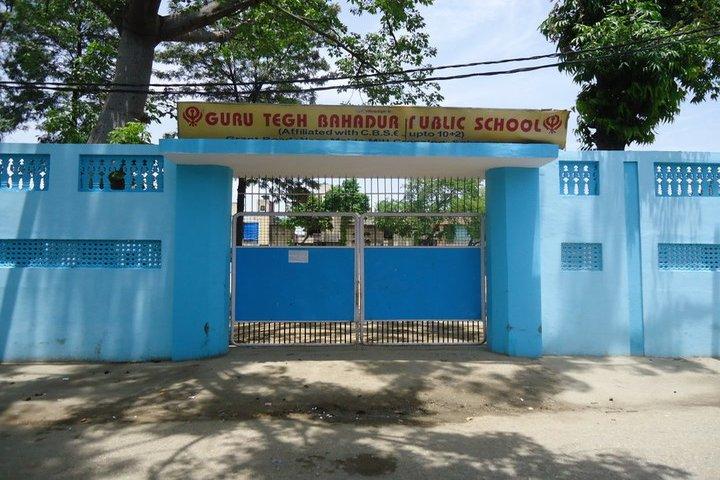 Guru Tegh Bahadur Public School-Entrance