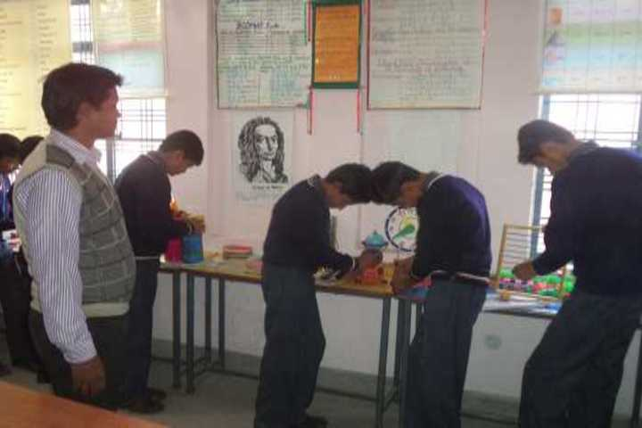 Gurukul Montessori School-Maths Lab
