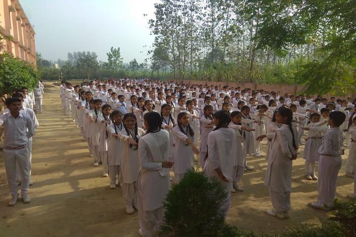 Gurukul Public School-Assembly