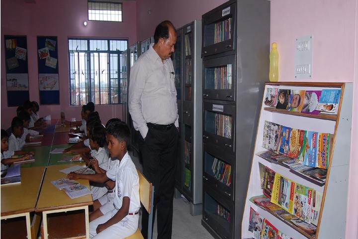 Gurukul Public School-Library