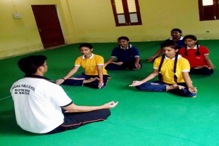 Gurukul Public School-Yoga