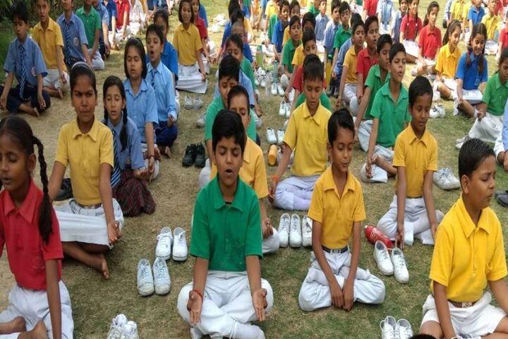 Gurukul Vidyapeeth-Yoga Day