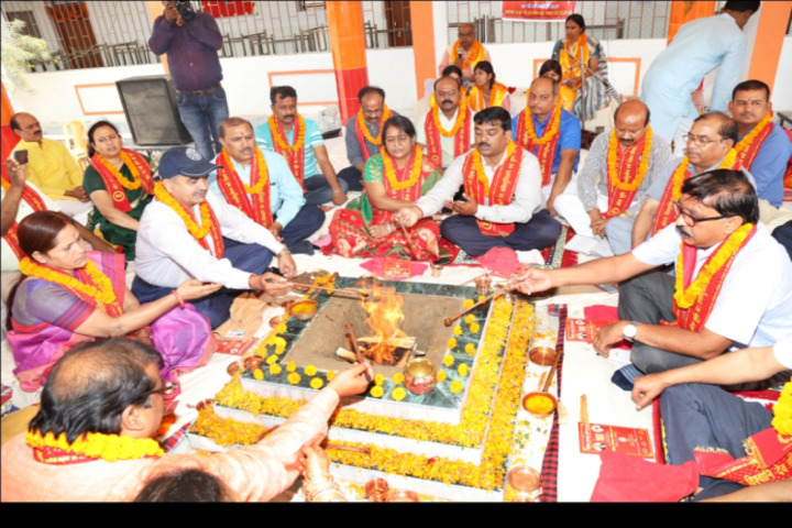 Sita Ram Dav Public School-Pooja