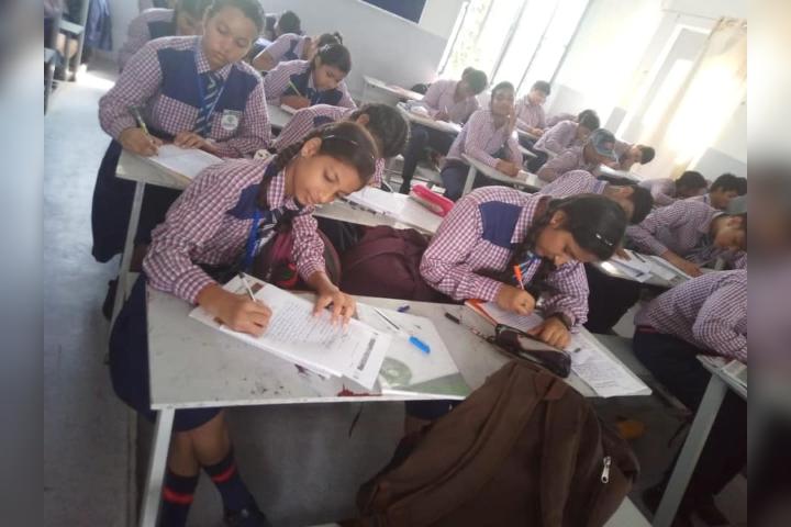 Gurukulam Public School- Exam Time