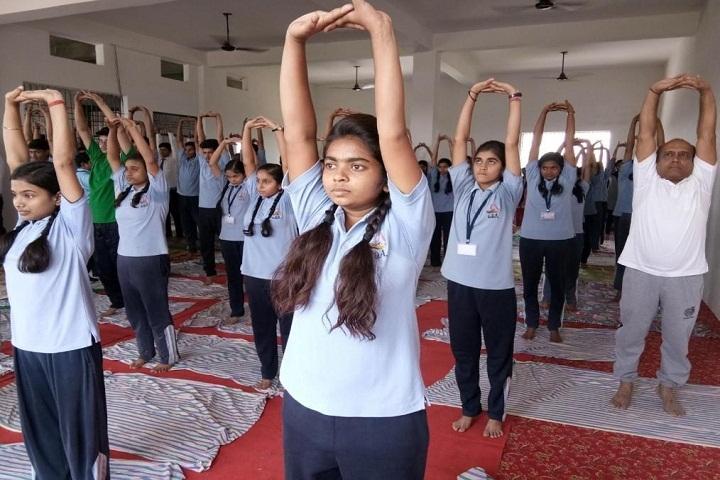 Gyan Deep Academy-Yoga Activity