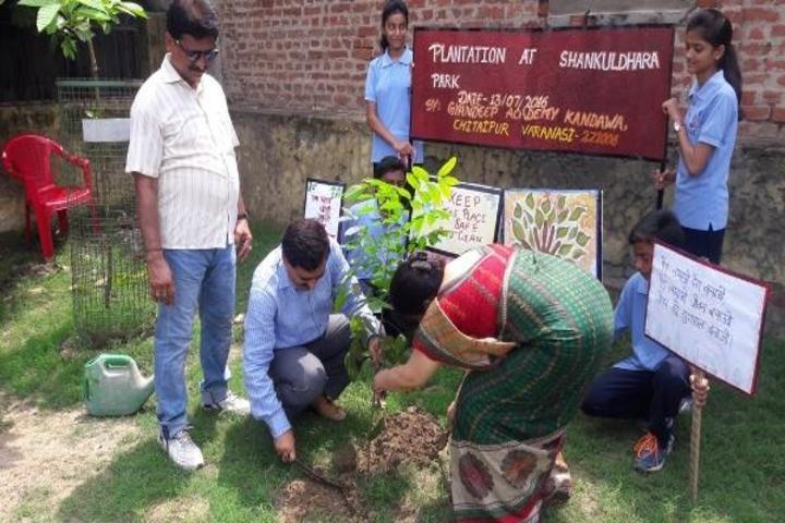 Gyan Deep Academy-Tree Plantation