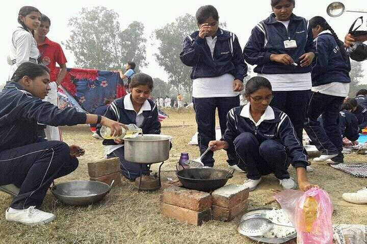 Gyan Kunj Senior Secondary Academy-Scouts And Guides Camp