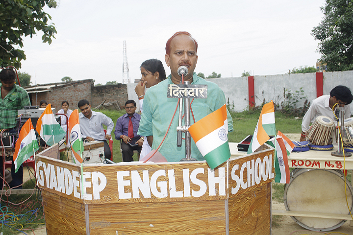 Gyandeep English School-Independence Day