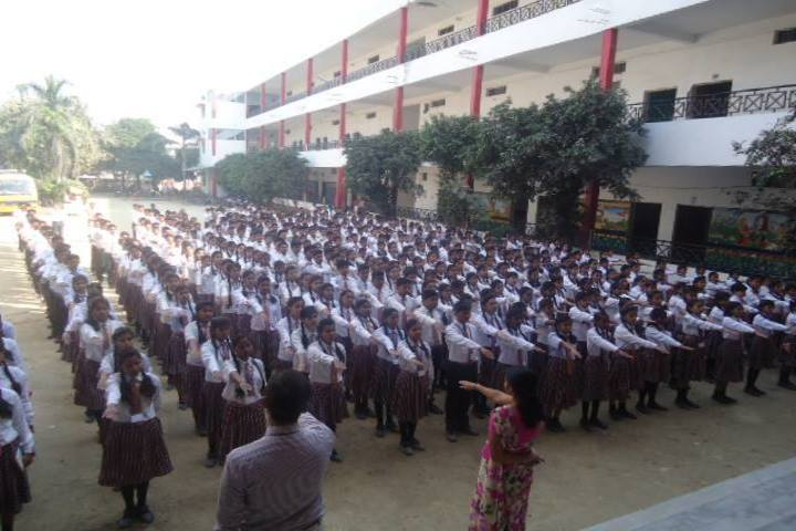 Gyandeep English School-Morning Assembly