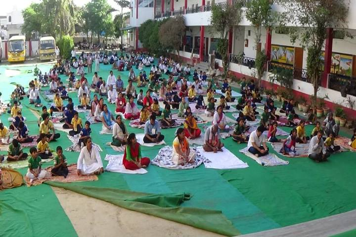 Gyandeep English School-Yoga Day