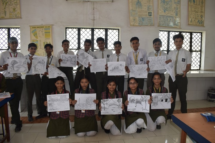 Gyandeep Shiksha Bharati Senior Secondary School-Drawing Activity