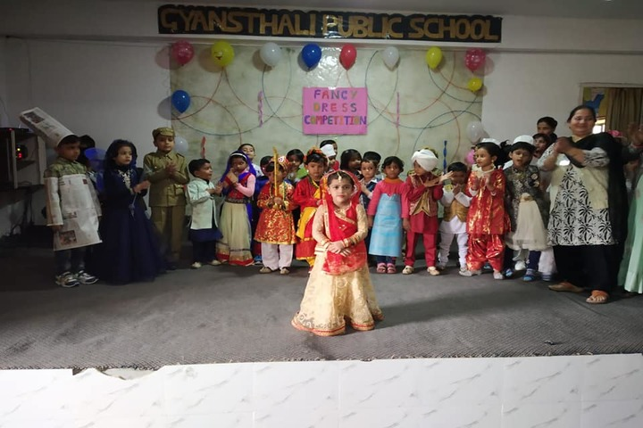 Gyansthali Public School-Fancy Dress Competition