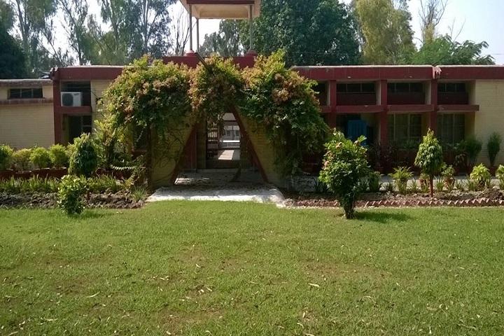 H A L Vidyalaya-Campus-View entrance