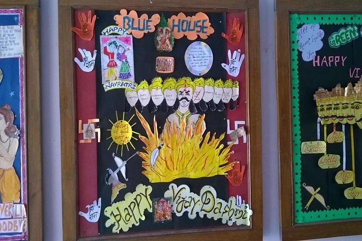 H A L Vidyalaya-Others notice board dashmi greeting