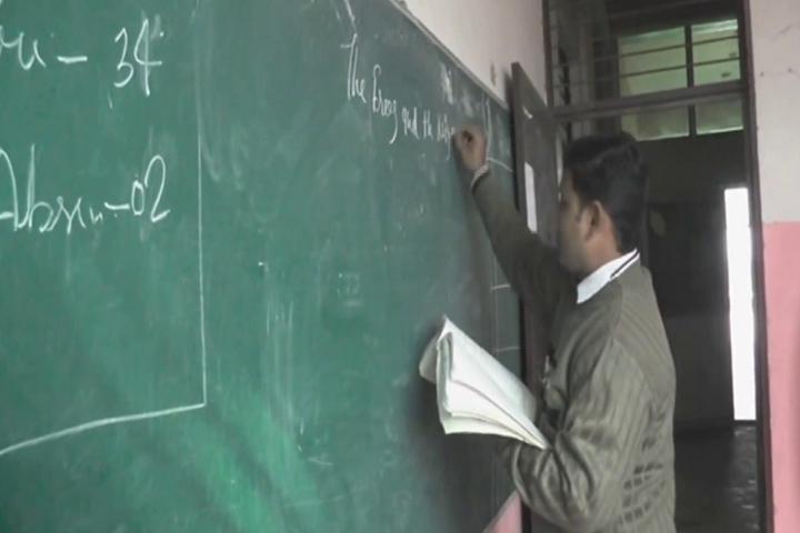 H.S. Public School-Classroom