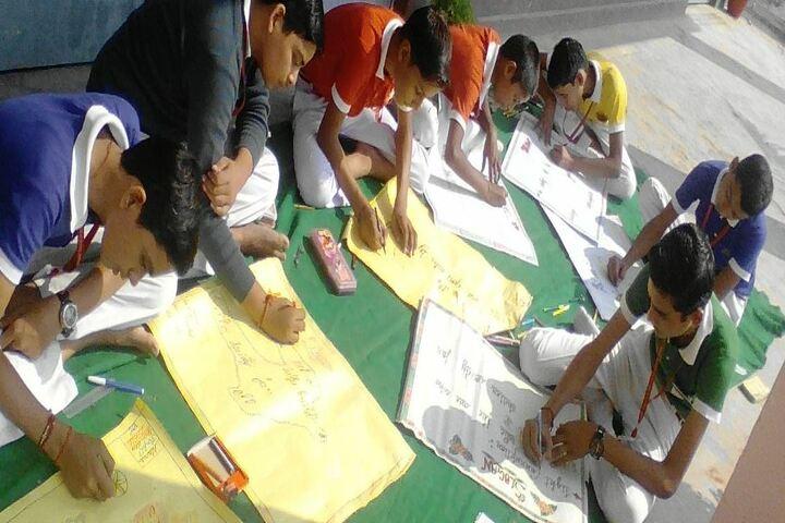 Hans Green Field Public School-Drawing Actiivity