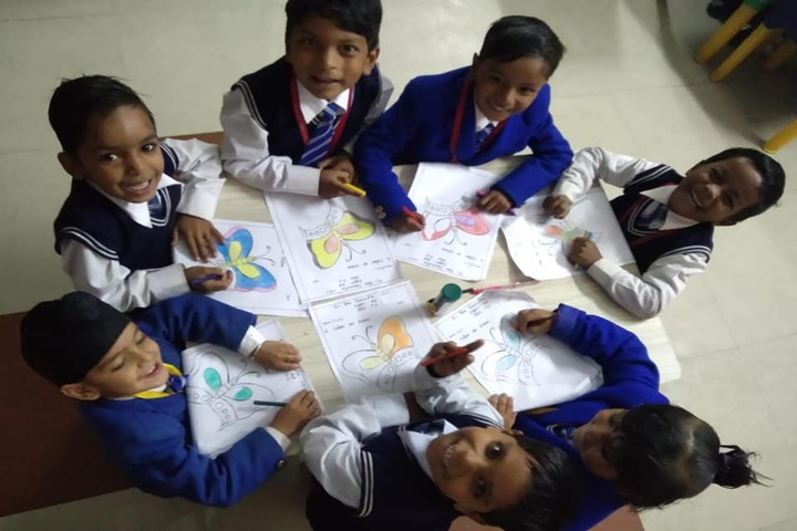 Hari Maya International School-Drawing Activity